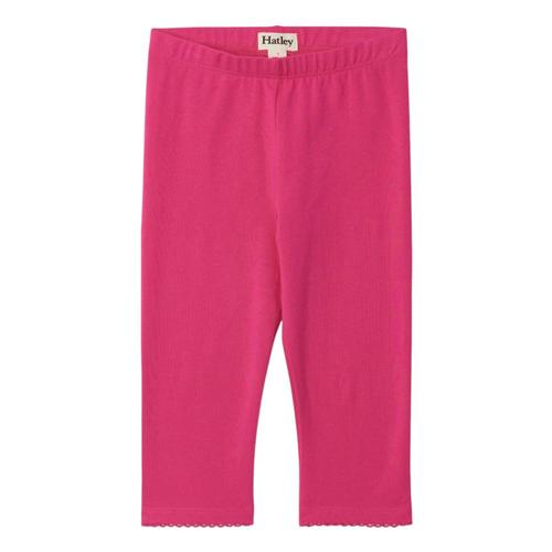 Hatley Girls Fuchsia Capri Leggings Pinkyrw
