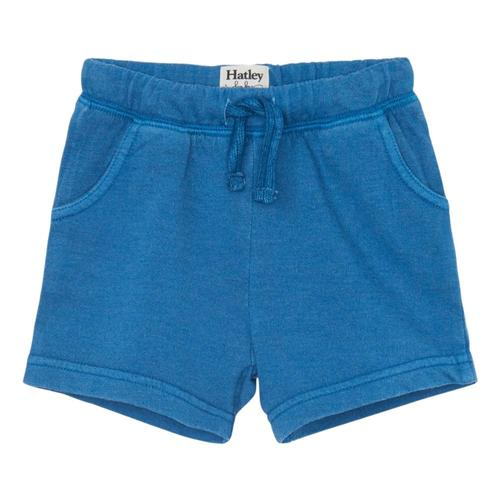 Hatley Moroccan Blue Baby Cotton Shorts Mrcnblue