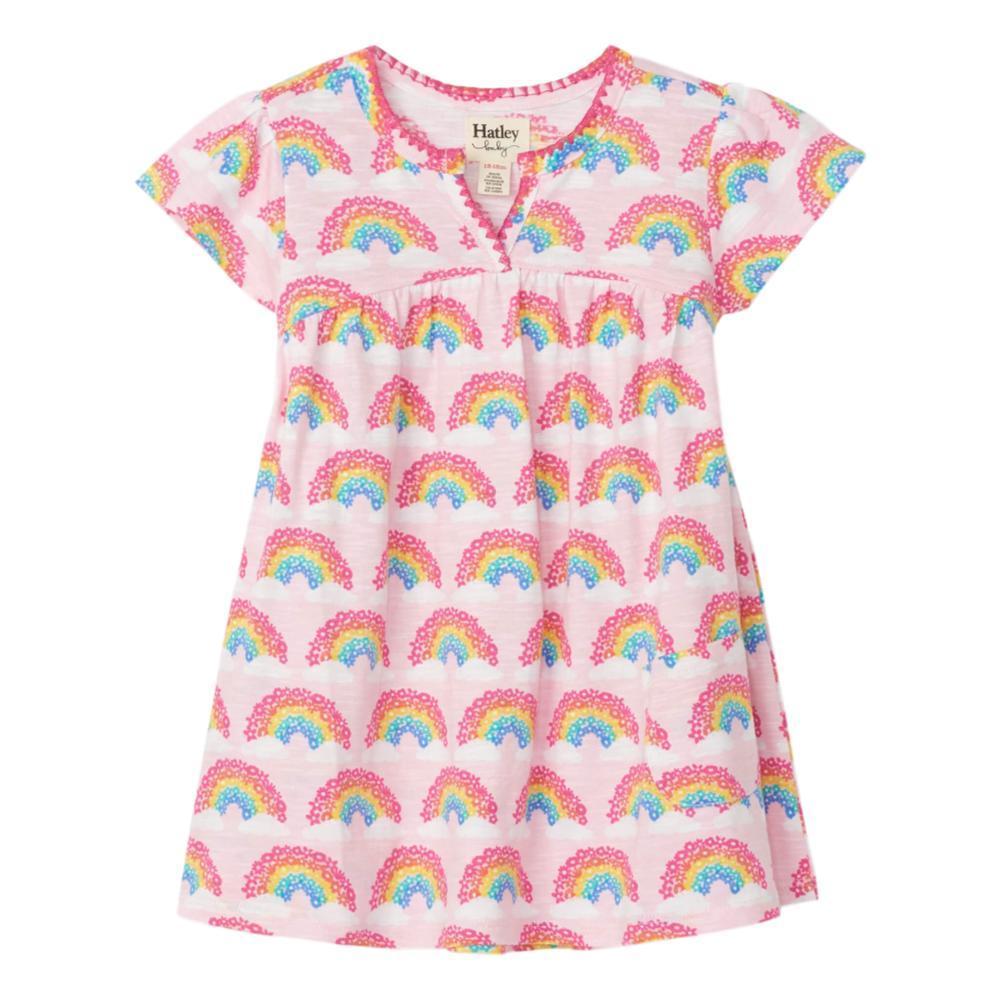 Hatley Magical Rainbows Baby Puff Dress CNDYPINK