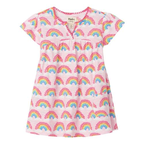 Hatley Magical Rainbows Baby Puff Dress Cndypink
