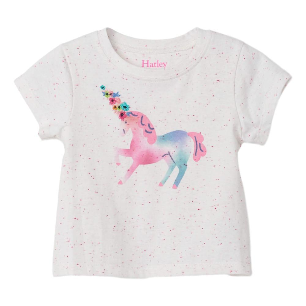 Hatley Delicate Unicorn Baby Tee WHITE