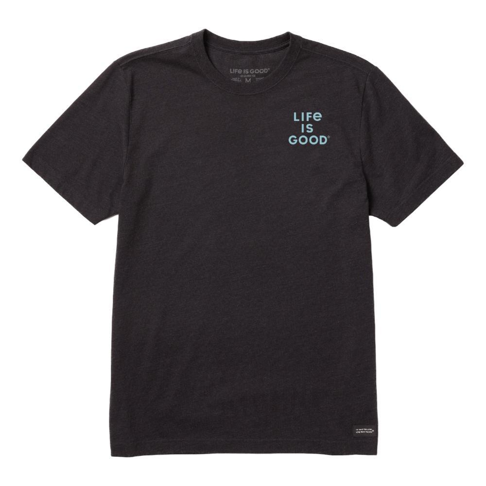 Life is Good Men's Amigo Crusher Tee JETBLACK