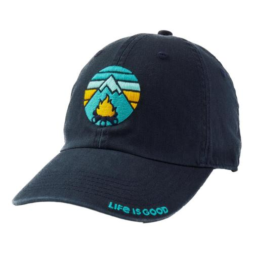 Life is Good Campfire Mountain Chill Cap Jetblack