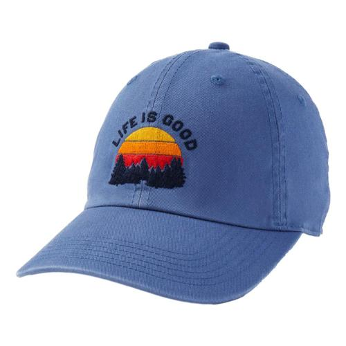 Life is Good Forest Sunrise Chill Cap Vintagblue