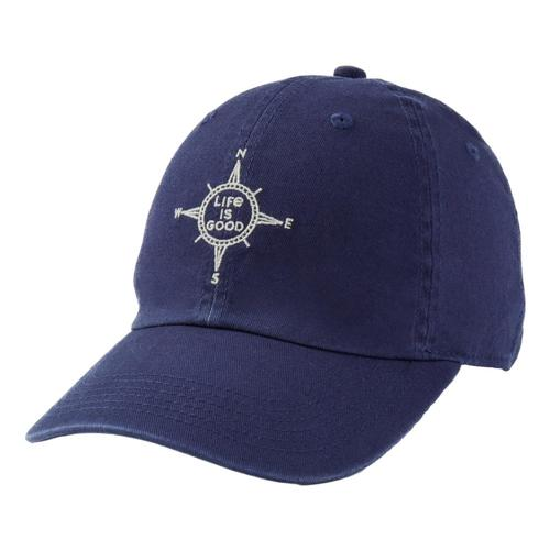 Life is Good Compass Chill Cap Darkstblue