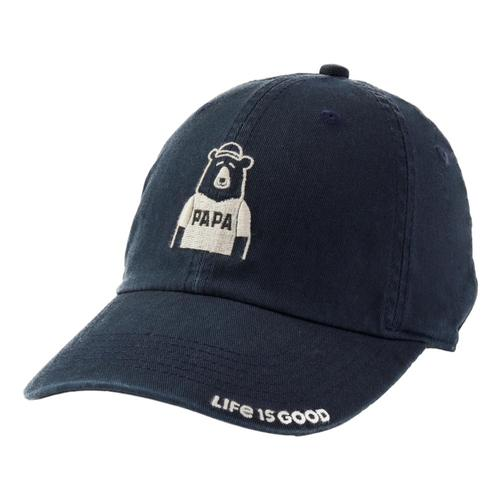 Life is Good Papa Chill Cap Jetblack