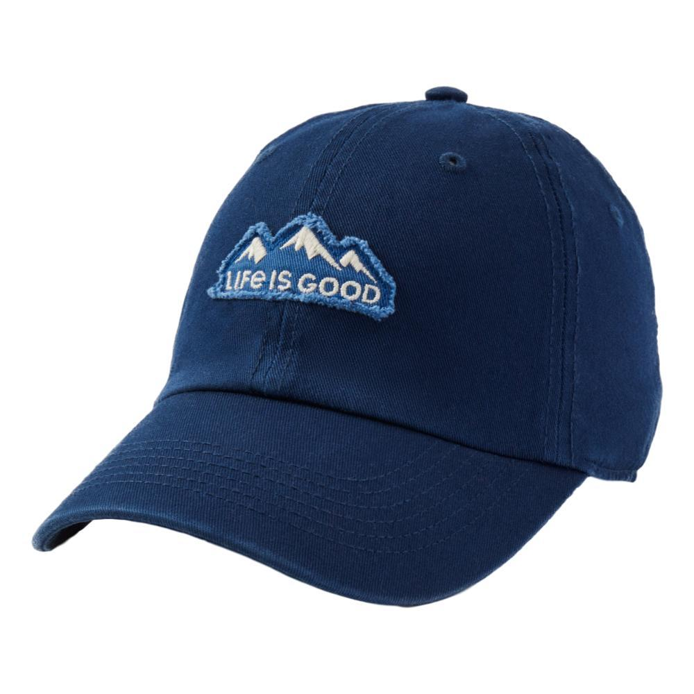 Life is Good LIG Mountain Tattered Chill Cap DARKSTBLUE
