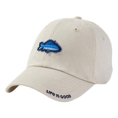 Life is Good Fish Tattered Chill Cap Bone