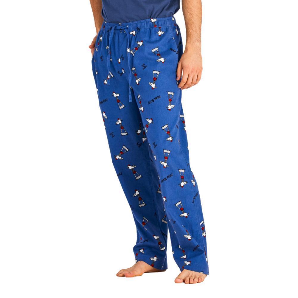 Life is Good Men's Gull Print Classic Sleep Pants VINTBLUE