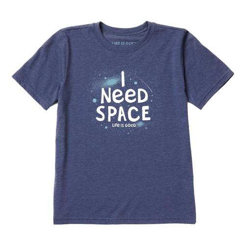 Life is Good Boys I Need Space Cool Tee Drkblue