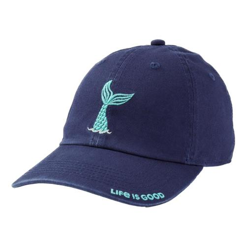 Life is Good Kids Mermaid Tail Chill Cap Drkblue