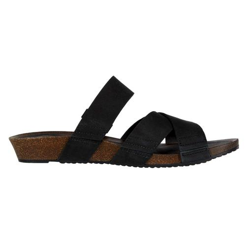 Teva Women's Mahonia Slide Sandals Black_blk