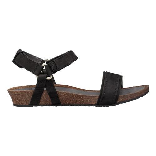 Teva WomenÕs Mahonia Stitch Sandals Black_blk