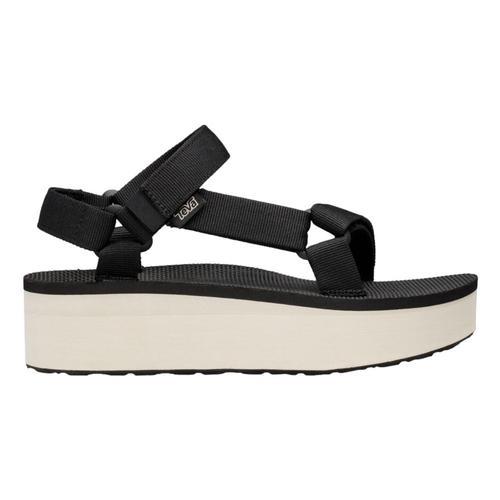 Teva Women's Flatform Universal Sandals Blk.Tan_bktn