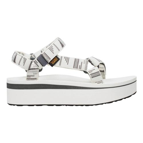 Teva WomenÕs Flatform Universal Sandals Chrawht_cbwht