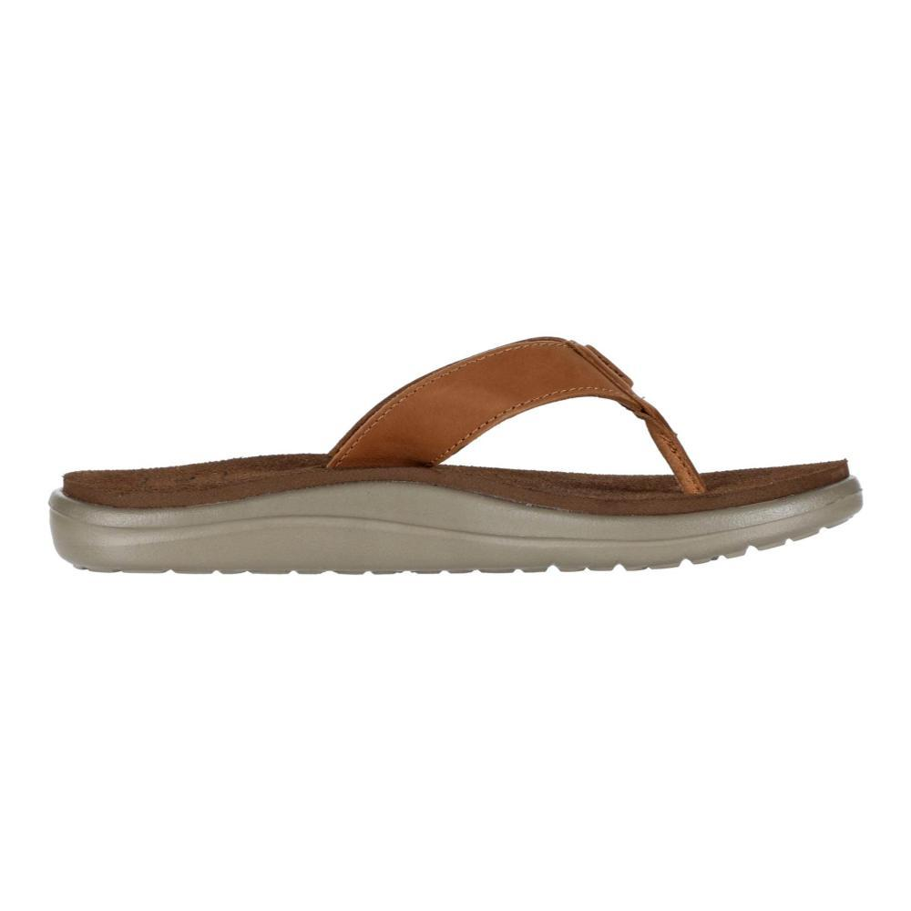 Teva Women's Voya Flip Leather Sandals CHIPMNK_CPM