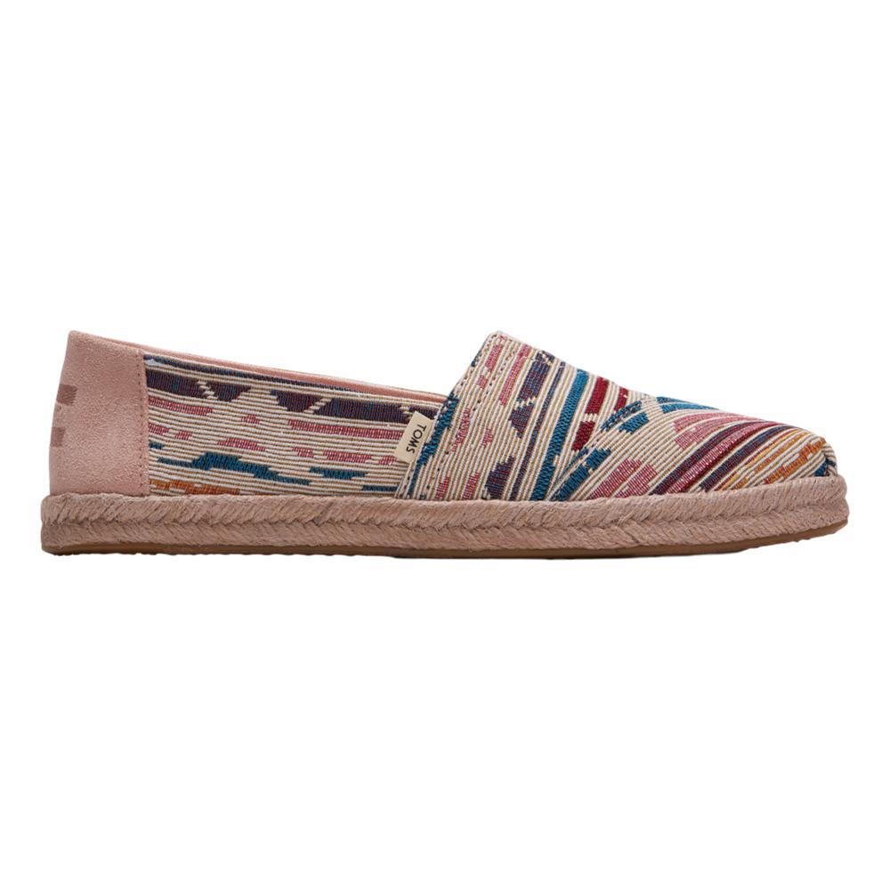 TOMS Women's Natural Multi Global Woven Espadrilles NMULTGLBWOV