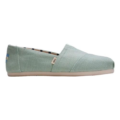TOMS WomenÕs Mint Heritage Canvas Classics Venice Collection Shoes Mint.Her.Canv