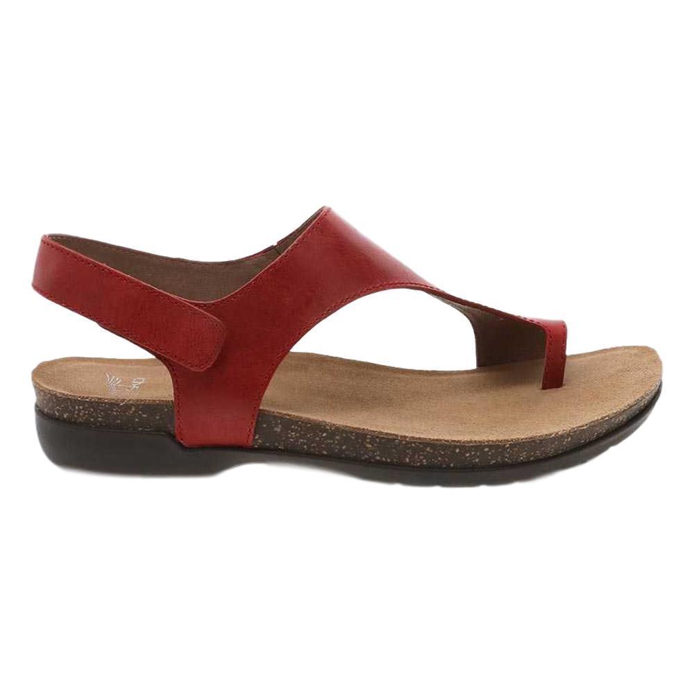 Dansko Women's Reece Sandals RED.WX.BRNS