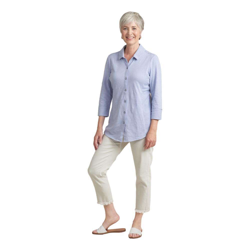 Habitat Women's Cotton Pebble Shaped Shirt FOG