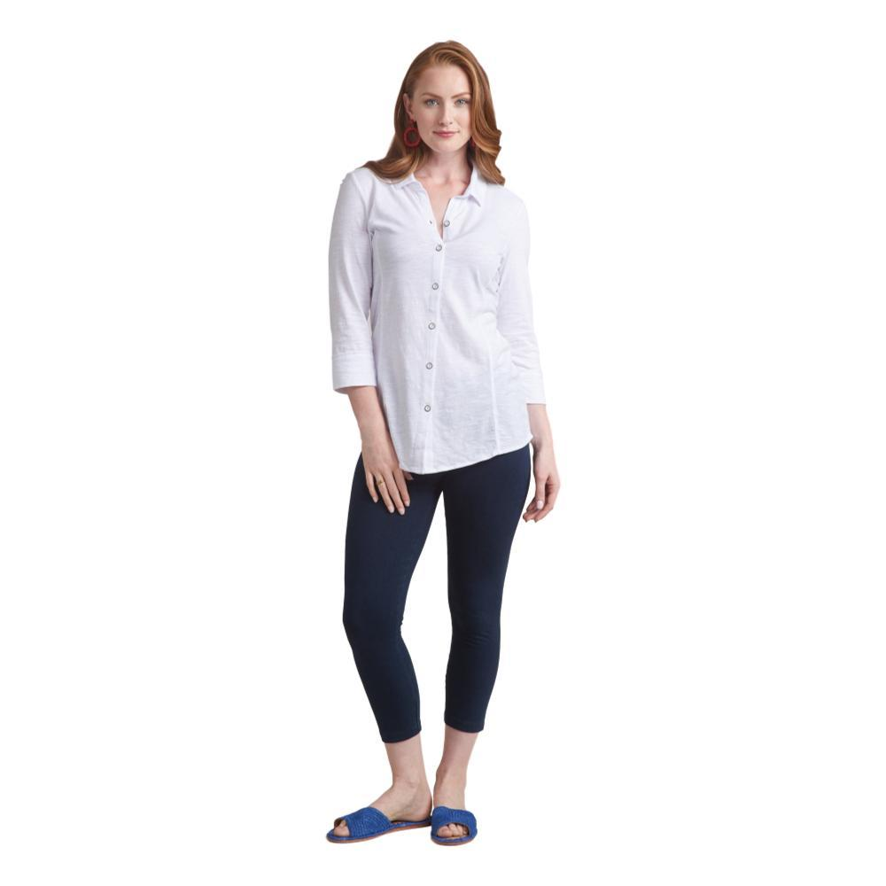 Habitat Women's Cotton Pebble Shaped Shirt WHITE