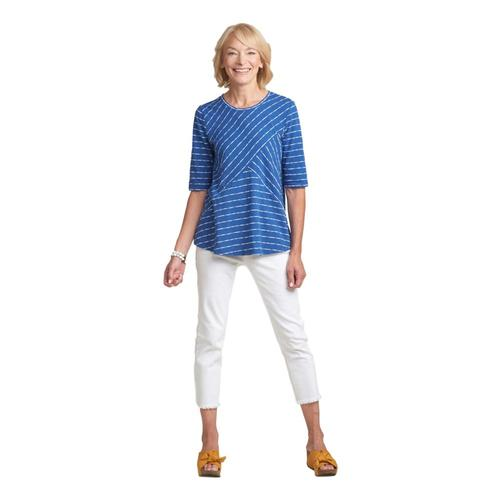 Habitat Women's Malibu Stripe Tunic Bluemoon