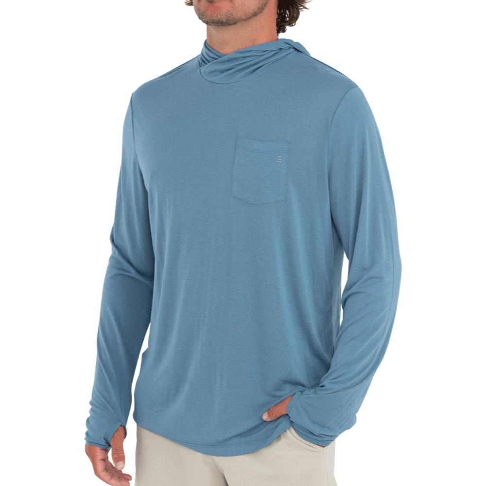 Free Fly Men's Bamboo Lightweight Hoody CAPEBLUE_116