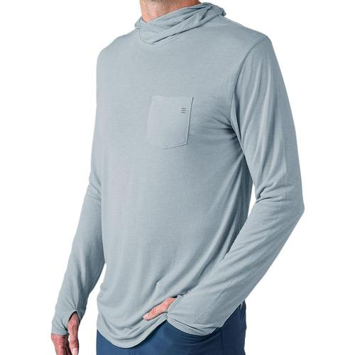 Free Fly Men's Bamboo Lightweight Hoody Caysblue111