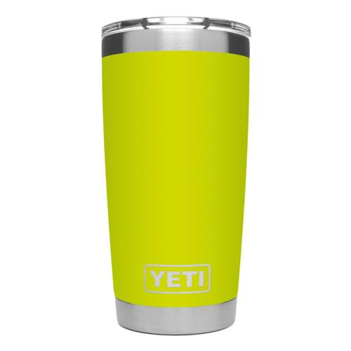 YETI Rambler 20oz Tumbler with MagSlider Lid Chartreuse