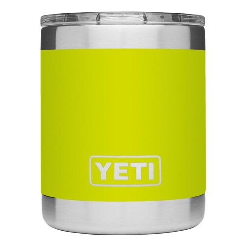 YETI Rambler 10oz Lowball Tumbler with Standard Lid Chartreuse