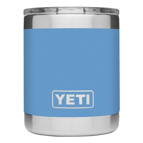 YETI Rambler 10oz Lowball Tumbler with Standard Lid Pacific_blue
