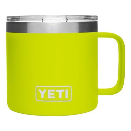 YETI Rambler 14oz Mug with Standard Lid Chartreuse