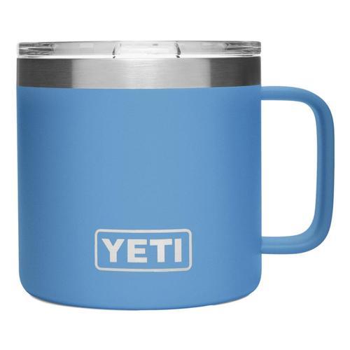 YETI Rambler 14oz Mug with Standard Lid Pacific_blue