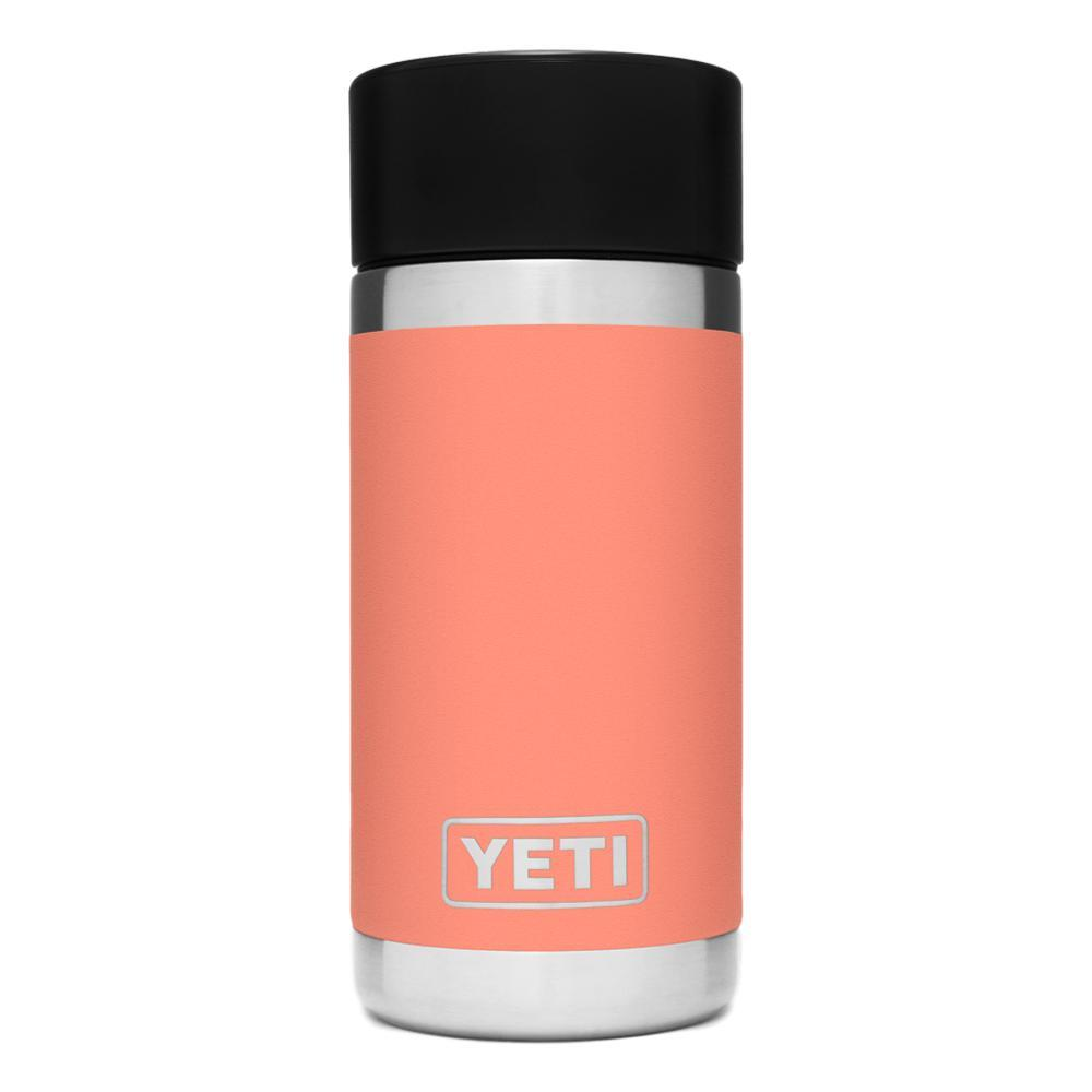 YETI Rambler 12oz Bottle with HotShot Cap CORAL