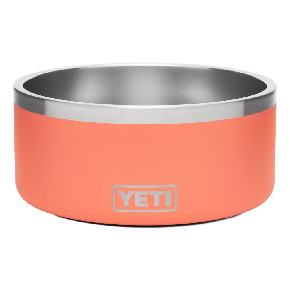 YETI Boomer 8 Dog Bowl CORAL