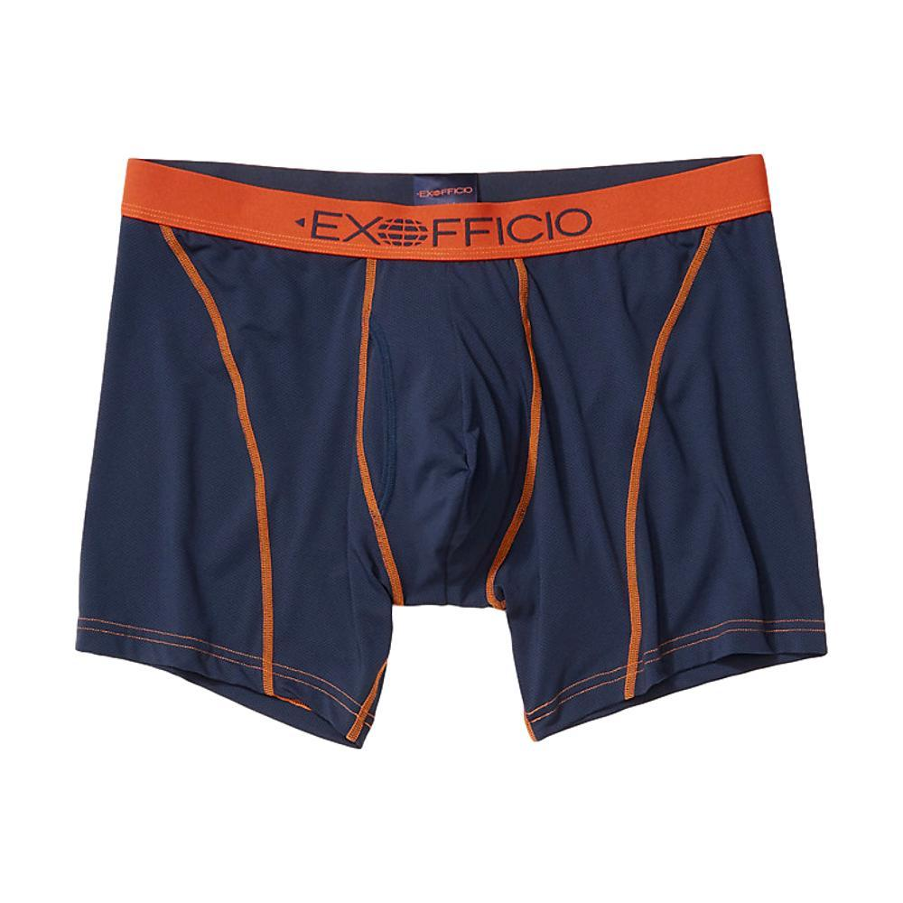 ExOfficio Men's Give-N-Go 2.0 Sport Mesh 6in Boxer Brief NAVY_5388
