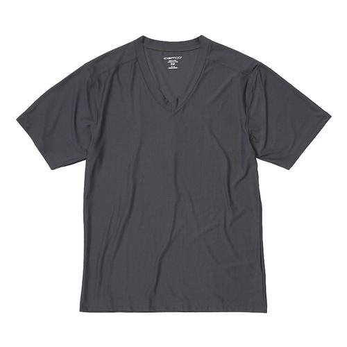 ExOfficio Men's Give-N-Go 2.0 V-Neck Tee Steel_9361