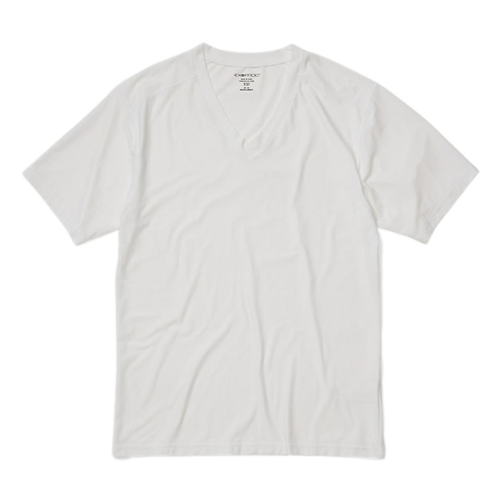 ExOfficio Men's Give-N-Go 2.0 V-Neck Tee WHITE_1000