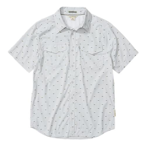 ExOfficio Men's Estacado Short Sleeve Shirt Oyster_7307