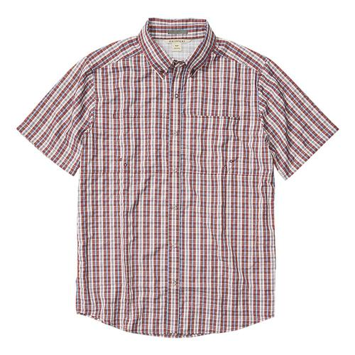 ExOfficio Men's Sailfish Short Sleeve Shirt Redwd_3232