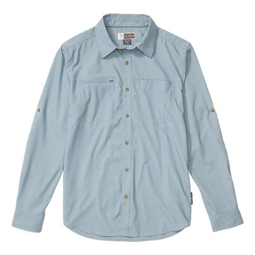 ExOfficio Men's BugsAway San Gil Long Sleeve Shirt Galaxy_5802