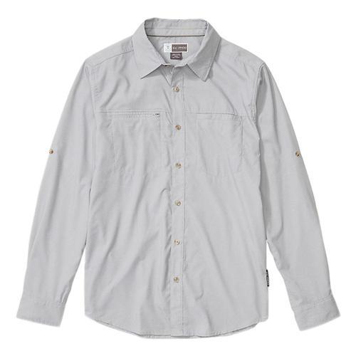 ExOfficio Men's BugsAway San Gil Long Sleeve Shirt Sleet_1360