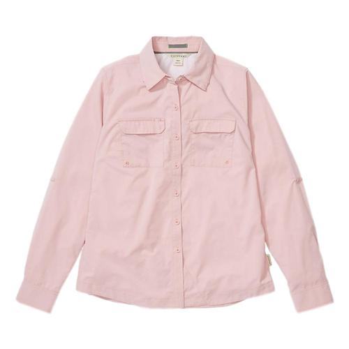 ExOfficio Women's Missoula Long Sleeve Shirt Pinksand_4698