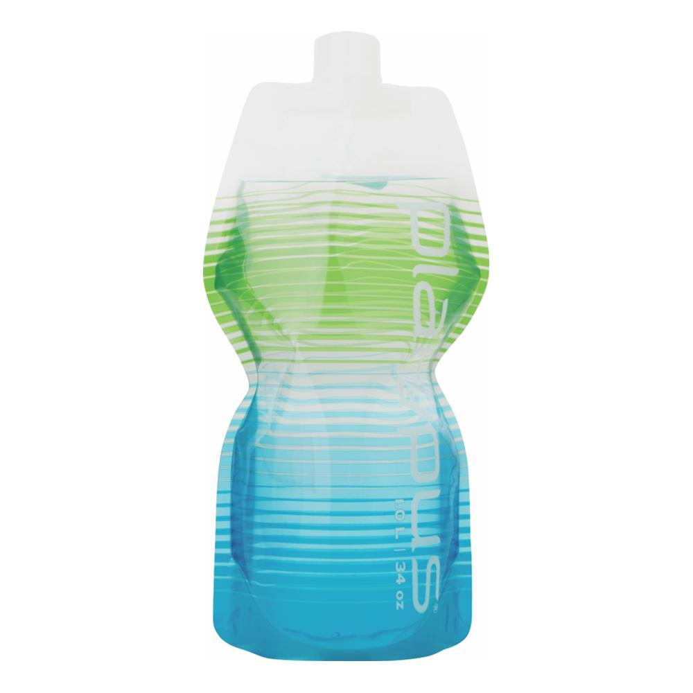 Platypus SoftBottle With Closure Cap - 1L COASTAL_GREEN