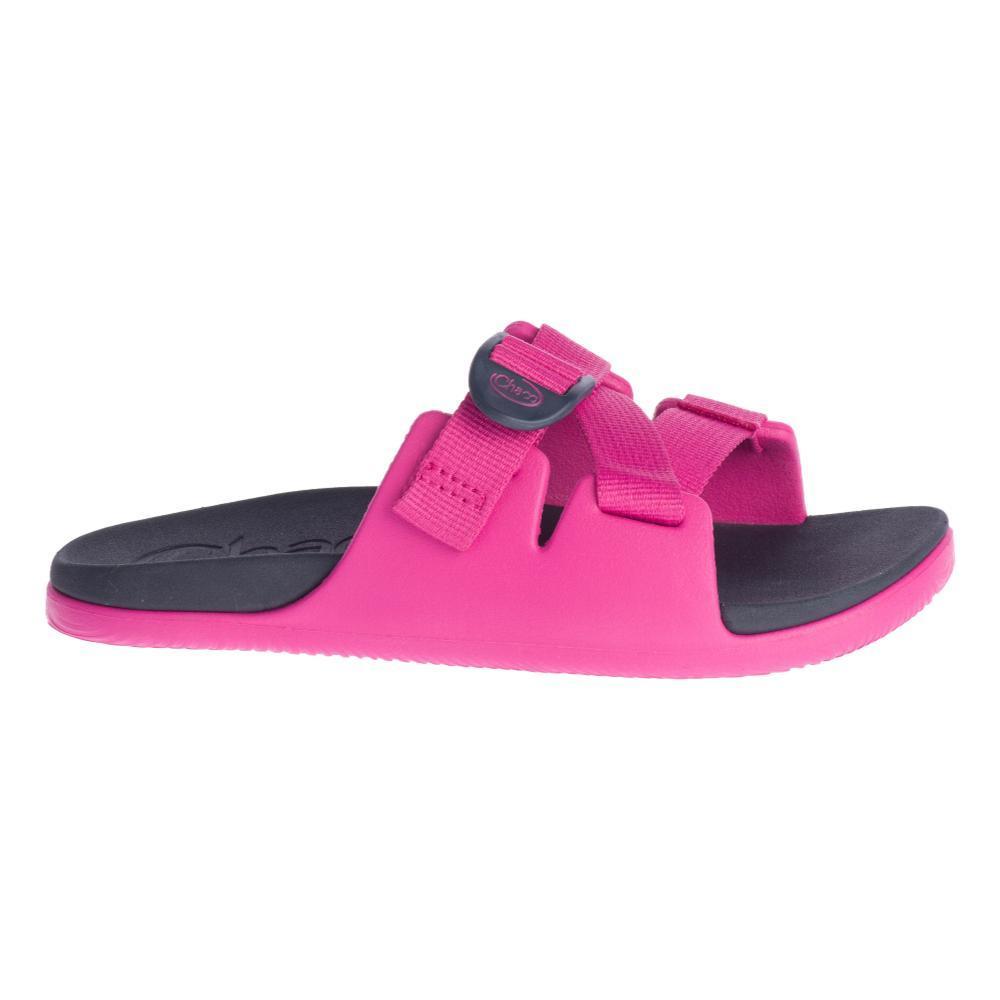 Chaco Big Kids Chillos Slide Sandals MAGENTA