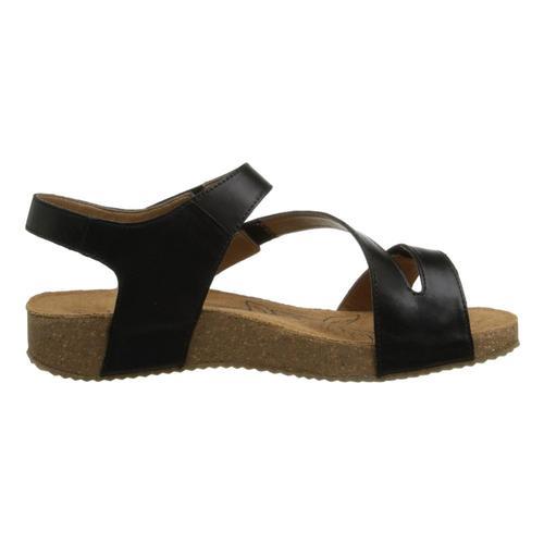 Josef Seibel WomenÕs Tonga 25 Sandals Black_815600