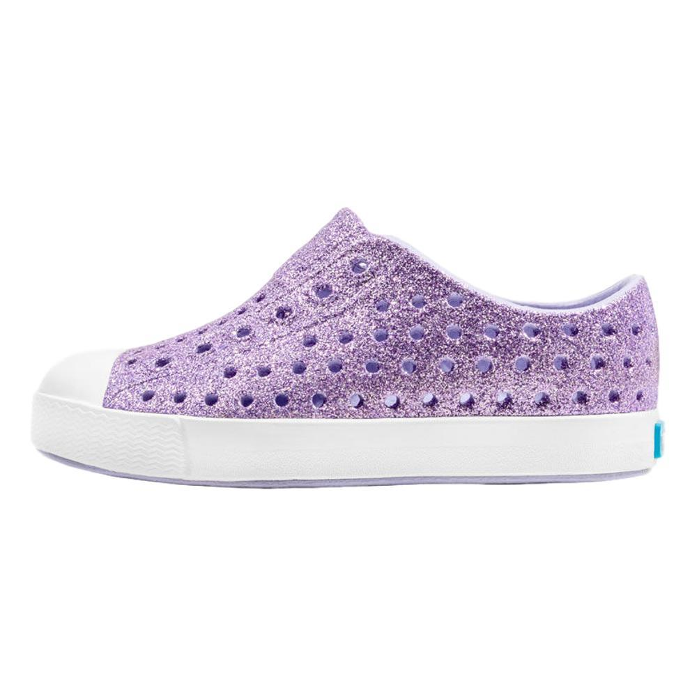 Native Toddler Jefferson Bling Shoes PURPLE