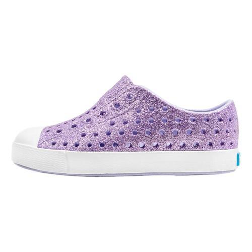 Native Kids Jefferson Bling Shoes Purple
