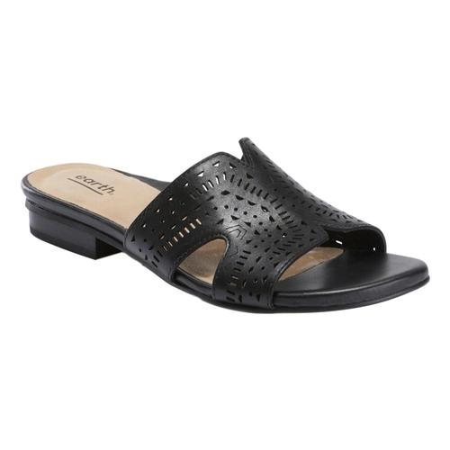 Earth Women's Mykonos Torlos Sandals Black_001