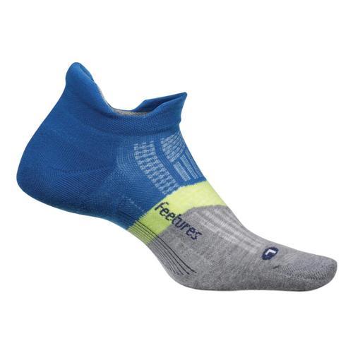 Feetures Elite Light Cushion No Show Tab Socks Puristblue